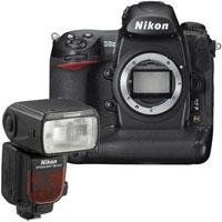 Nikon D3X Digital SLR Camera Body, 24.5 Megapixel - Bundle - with Nikon SB-910 TTL AF Shoe Mount Speedlight, USA Warranty by Nikon. $8496.95. The Nikon D3X Digital SLR Camera features extreme resolution 24.5-megapixel FX-format (35.9 x 24.0mm) CMOS sensor. Large 5.94m pixels capture astonishing detail and subtleties with outstanding dynamic range for demanding commercial applications. It has Nikon EXPEED image processing technologies which extends and assures breathtakingly ric...