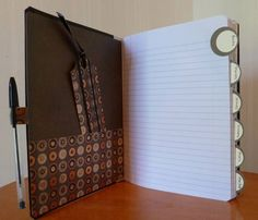 altered notebook by fuzzymaddy - Cards and Paper Crafts at Splitcoaststampers