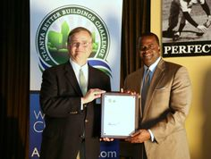July - Atlanta Mayor Kasim Reed recognized GSA's Sam Nunn Atlanta Federal Center for reducing water and energy consumption by approximately 20 percent and becoming one of the first properties in the DOE-backed Atlanta Better Buildings Challenge to reach its sustainability goals within two years.
