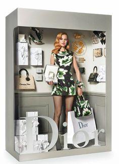 "Vogue Paris ""Panoplies"" editorial - the Dior 'doll'"