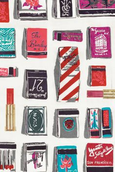 love the idea of having my business card look like a matchbook.... as though i wrote my name and number on matches.....LOVE this idea.