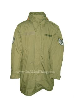 The Who parka available based on the original M51 style :)