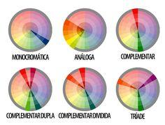 O Estilo fica: Combinar cores