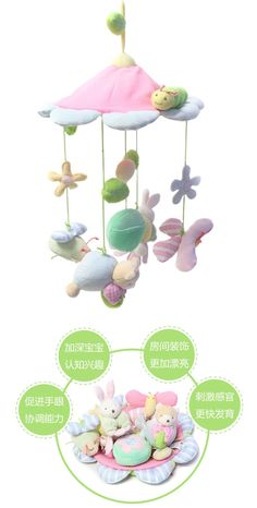 Musical Mobile Baby Crib Rotating Music Box Baby Toys New Multifunctional Baby Rattle Toy Baby Mobile Bed Bell WJ334-in Baby Rattles & Mobiles from Toys & Hobbies on Aliexpress.com | Alibaba Group