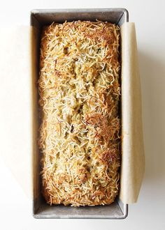 Coconut Zucchini Bread by thekitchenpapaer #Zucchini_Bread #Coconut
