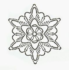 Watch The Video Splendid Crochet a Puff Flower Ideas. Phenomenal Crochet a Puff Flower Ideas. Crochet Snowflake Pattern, Crochet Stars, Christmas Crochet Patterns, Crochet Snowflakes, Granny Square Crochet Pattern, Crochet Diagram, Afghan Crochet Patterns, Thread Crochet, Crochet Motif