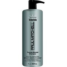Paul Mitchell Forever Blonde Shampoo 33.8 Oz by Forever Blonde. $33.10. Blonde Forever. Paul Mitchell. 33oz Shampoo W/ pump. Paul Mitchell Forever Shampoo 33.8