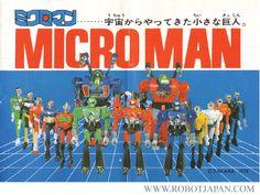 Microman ad via Robot-Japan