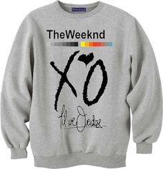 the weeknd xo for sweatshirt Mens and Girls sweater by cupidistore