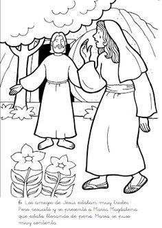 Coloriage : la sainte cène (dernier repas de Jésus