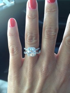 This band makes THIS ring the perfect ring!