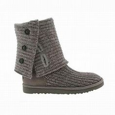 Cheap UGG Classic Cardy Grey Boots Outlet