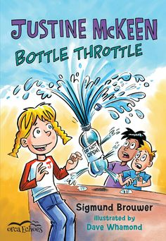 "Read ""Justine Mckeen, Bottle Throttle"" by Sigmund Brouwer available from Rakuten Kobo. Justine is back! She's worried about what plastic is doing to the environment and to her classmates, so she sets out to . Female Protagonist, Fiction And Nonfiction, Early Readers, Chapter Books, Book Nerd, Book Publishing, Female Characters, Audiobooks, This Book"