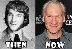 bill maher before and after