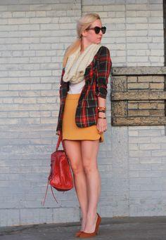 Zara Skirt, Blazer from Necessary Objects Balenciaga Work, Zara Shoes, Karen Walker Sunglasses. Bracelets: Hermes, Bvlgari c/o Vogue Influencer Network