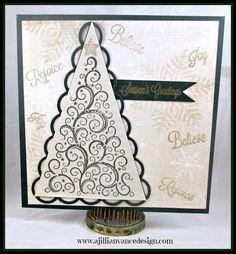 Bunny Runs with Scissors presented by A Jillian Vance Design: O Christmas Tree . . .