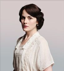 Lady Mary Crawley. I have a crush on Downton Abbey