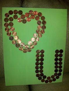 Penny art!