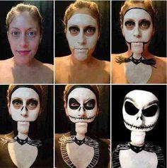 Halloween Makeup 02 10 невероятных идей для макияжа на Хэллоуин