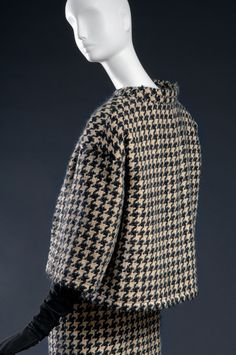 ndré Courrèges, suit, 1961, donated in memory of Isabel Eberstadt by her family.