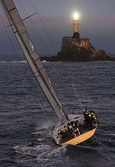 Ah O gemide ben de olsaydım... Rolex Fastnet Race,Plymouth