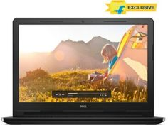 Dell Inspiron 3558 Core i3 (5th Gen) - (4 GB/500 GB HDD/Windows 10) Notebook Z565104HIN9(15.6 inch, Black, 2.3 kg) Rs. 29,990