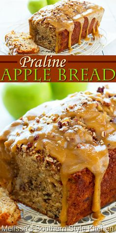 Apple Recipes, Bread Recipes, Baking Recipes, Sweet Recipes, Cake Recipes, Dessert Recipes, Fall Baking, Holiday Baking, Just Desserts
