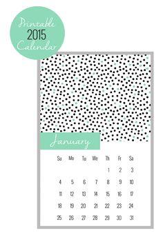 Nalle's House: 2015 Printable Calendar