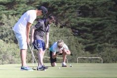 Niall golfing in Melbourne (02/12)