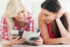 young women browsing through a catalog Daniel Wellington, Young Women, Catalog, Shopping