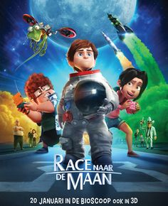 Vanaf 21 januari verschijnt er weer een te gekke nieuwe kinderfilm, Race naar de maan. De animatiefilm gaat over een jongetje dat per ongeluk meegaat met zijn opa op een missie naar de maan. Flair geeft 3x4 kaarten weg voor…