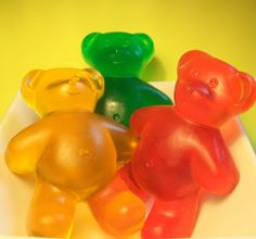 Giant gummy bear soap.. on my wish list!