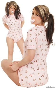 adult-baby abdl privatina - individual one piece fashion: adult baby onsie *junior*... $59,45 WTF
