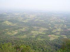 """desde el cerro """"Tres Kandu"""". Gral Garay - Dpto. Guairá."""