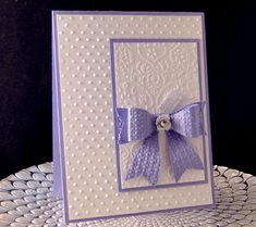 Paper Bow Bday Ccard by jasonw1 - Cards and Paper Crafts at Splitcoaststampers