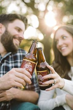 engagement picture beer - Google Search