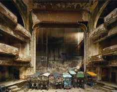 sad, but always loved the crumbling of abandoned buildings