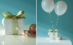 Fun DIY wrapping ideas from Oh Happy Day.
