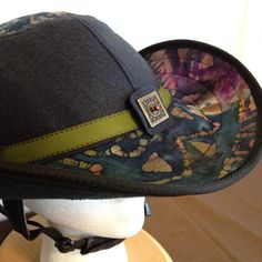 Hey, I found this really awesome Etsy listing at https://www.etsy.com/listing/237215411/equestrian-helmet-coverhat-western