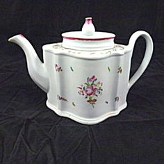Newhall Ceramic Teapot, Circa 1790-1795.