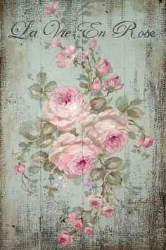 Furniture decals shabby chic french image transfer vintage Antique painted rose home Craft label script crafts scrapbooking card making Diy Decoupage Vintage, Vintage Diy, Vintage Cards, Vintage Flowers, Vintage Images, Vintage Paper Crafts, Decoupage Glass, Vintage Ideas, Shabby Vintage
