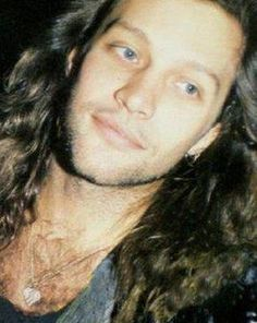 Rare close-up photo of Jon Bon Jovi from the 80's