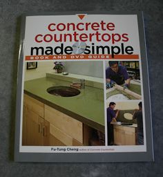 BACK TO HOME DESIGN: concrete counter top tutorial