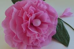 Making crepe paper flowers has become popular again as a way to create unique and economical decorations for special occasions as well as for use in weddings. In the early 1900s families who did not have real flowers available designed their own patterns based on common flowers they saw. Our templates make it easy for  any crafter to create some of...