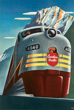 1952... Canadian Pacific!