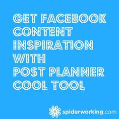 How to use the new Post Planner cool tool for Facebook