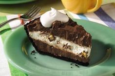 Candy Bar Pie recipe - Think you've left childhood behind? Not so fast. Just see how hard it is to be patient waiting for your slice of this creamy layered pie with chunks of caramel-peanut nougat.    Enter the COOL WHIP Pin & Win Sweepstakes! Get started by pinning your favorite COOL WHIP recipe and you could win the $500 Grand Prize!  Visit www.kraftrecipes.com/CoolWhipSweepstakes for complete details. #DollopDays #PinandWin
