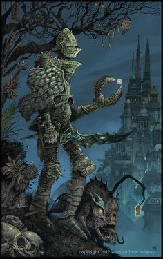 Limited Edition Print  The Clawknight by seanandrewmurray on Etsy, $25.00