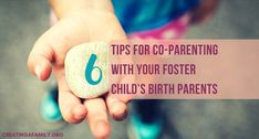 Foster parenting is hard and one of the hardest parts is co-parenting with your foster child's birth parent. How to establish this co-parenting relationship? We offer 6 concrete tips for co-parenting in foster care.