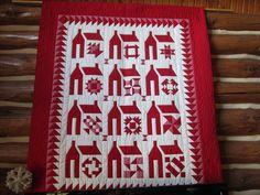 school house quilt block